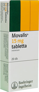 Movalis (meloxicam) 15mg Rendelés Online