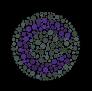 látásteszt színes körök