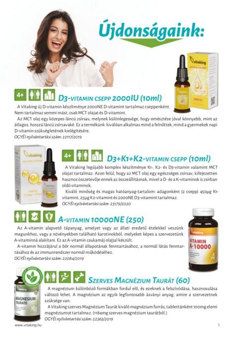 Az A-vitamin hatása, hiánya, túladagolása és forrásai • Dietless