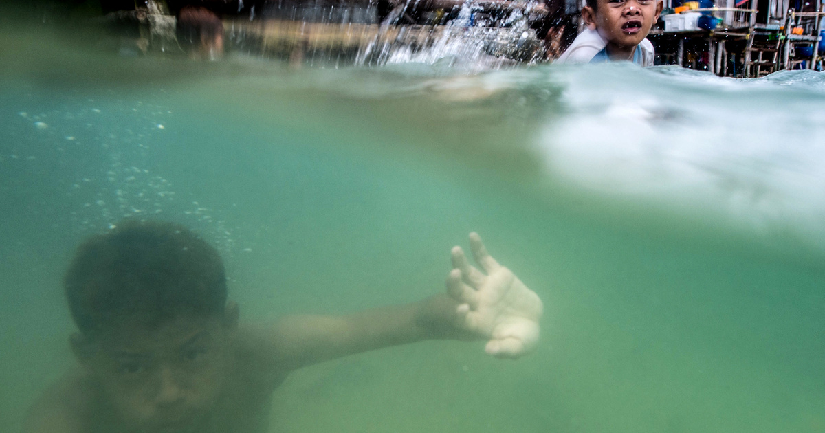 emberi látás víz alatti