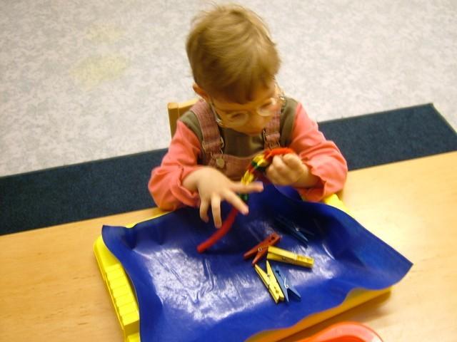látássérült gyermek jó látási teszt