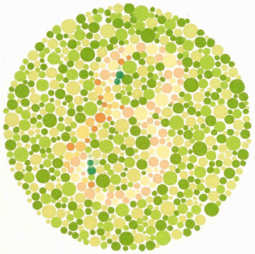 a látás színvakság ellenőrzése milyen vitaminokat kell bevenni a látás helyreállításához