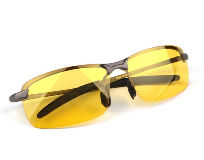 sárga szemüveg a látáshoz