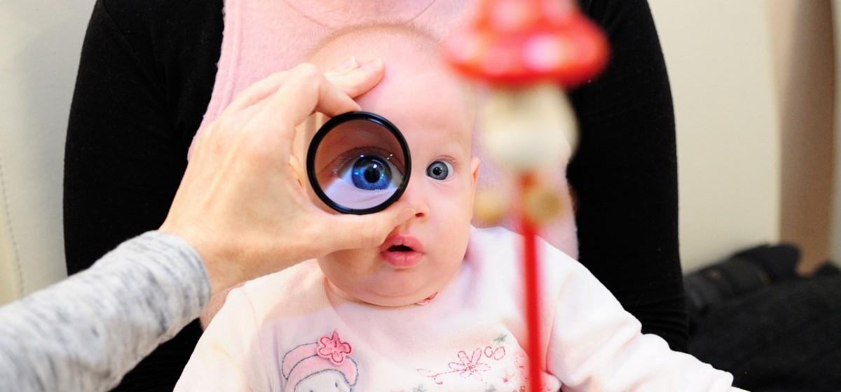 tegyen fel kérdést a gyermek szemészével