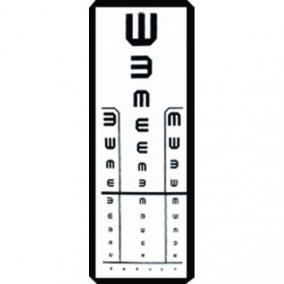 asztali látásvizsgálat otthon a szem látása romlott