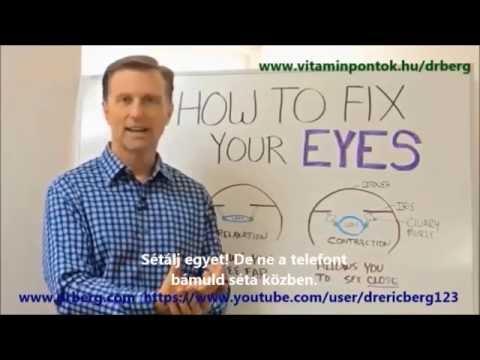 A látás helyreállítása életkori látásmódban: szemészeti gyakorlatok