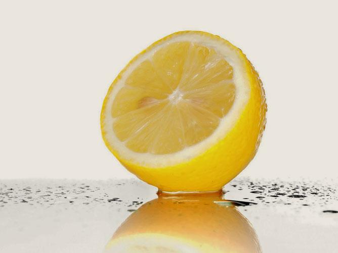 citrom mézzel a látáshoz