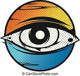 szem látás tövis rövidlátó légy
