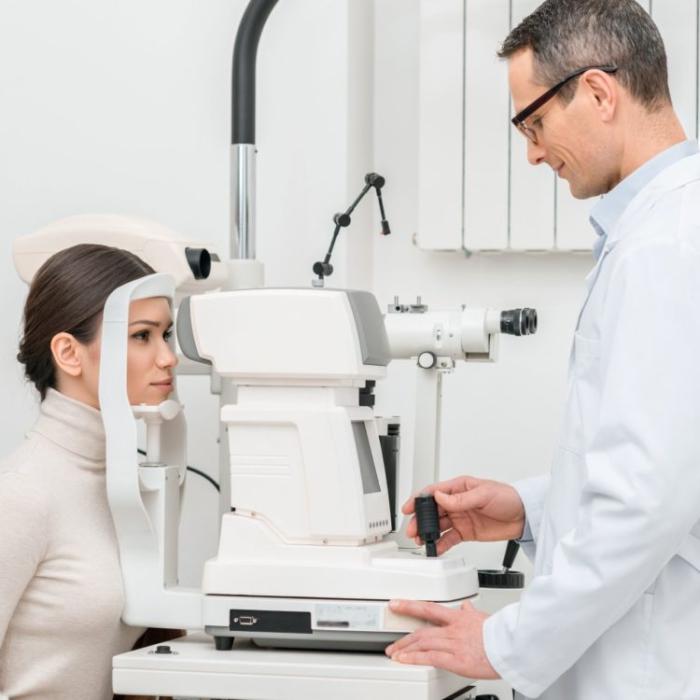 szemészeti ellátás