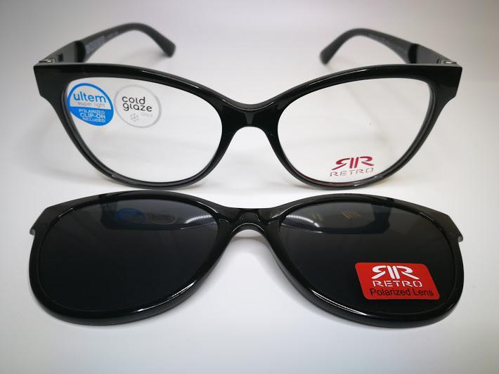 Látás szemüveg klip