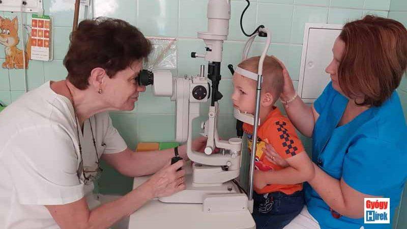 szemészeti vizsgálatok