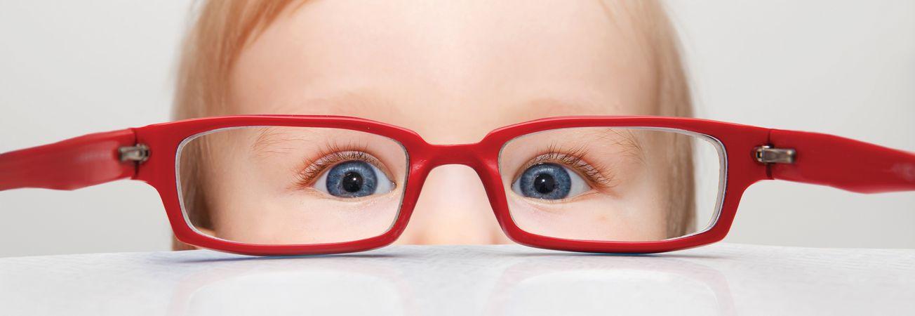 a gyermek látásélessége belül van