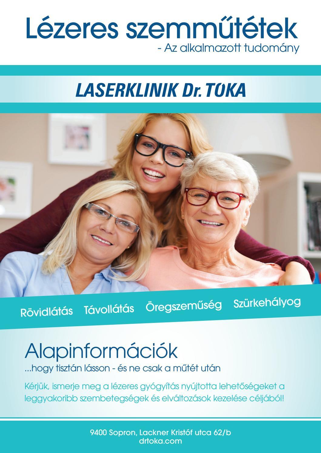 lézeres szemműtét a látás javítása érdekében